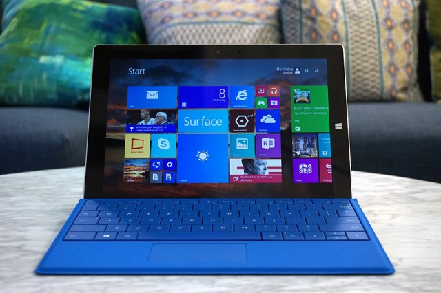 Microsoft's Surface 3 tablet