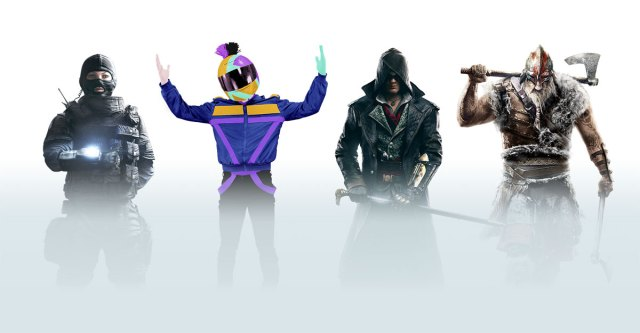 Ubisoft Club users in character