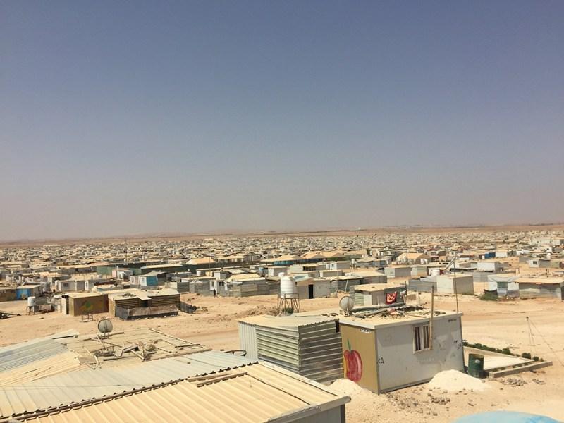 Jordan's Za'atari refuge camp