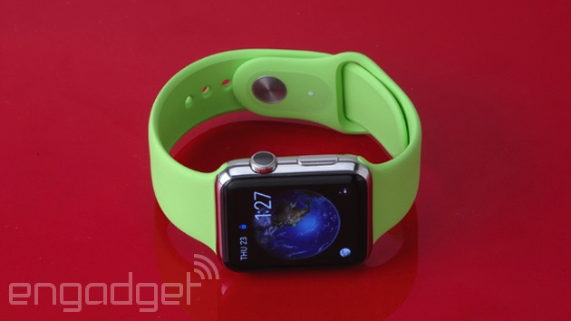 Apple Watch Sport in green