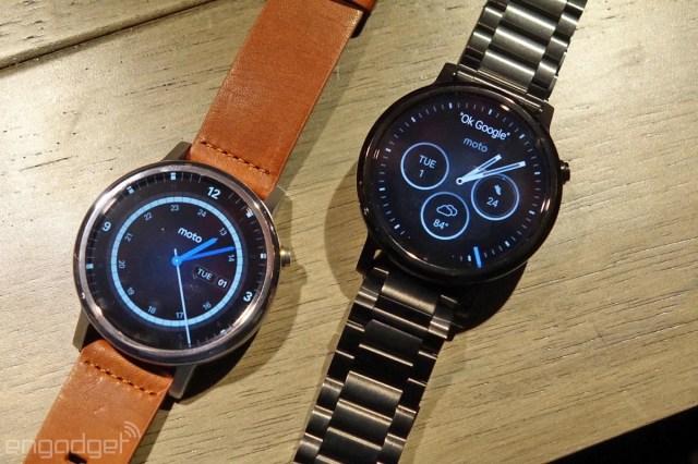 Motorola's 2nd-generation Moto 360 smartwatch