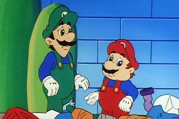 Mario and Luigi are sad