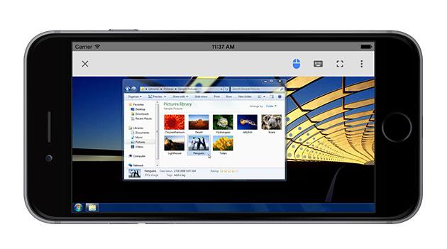 Usi il vostro iPhone per accedere al desktop remoto del cromo di Google
