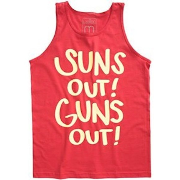douchiest shirts ever created, douchey shirts, suns out guns out