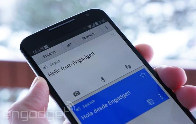 La traduzione app di Google presto trasformerà in moto il discorso in testo