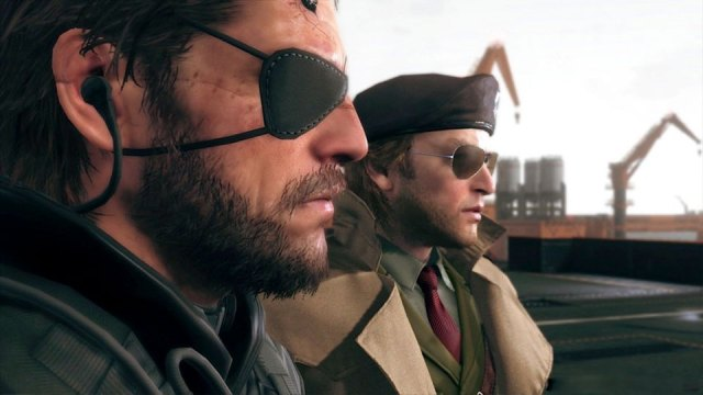 Solid Snake and crew in 'Metal Gear Solid V'