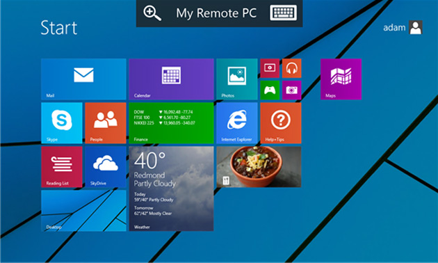 Remote Desktop for Windows Phone
