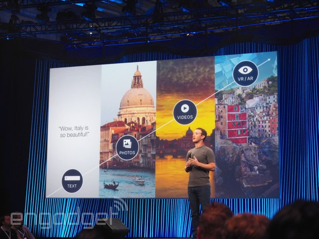 F8 2015: Facebook Messenger will soon let you chat with stores, 360-degree videos and more