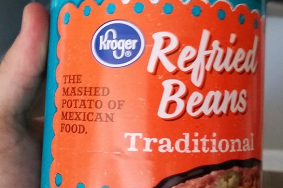 something ain't right photos, hidden funny photos, refried beans mashed potatoes