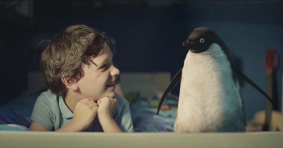 John Lewis porta a Monty il pinguino a vita con laiuto di Microsoft e di Google