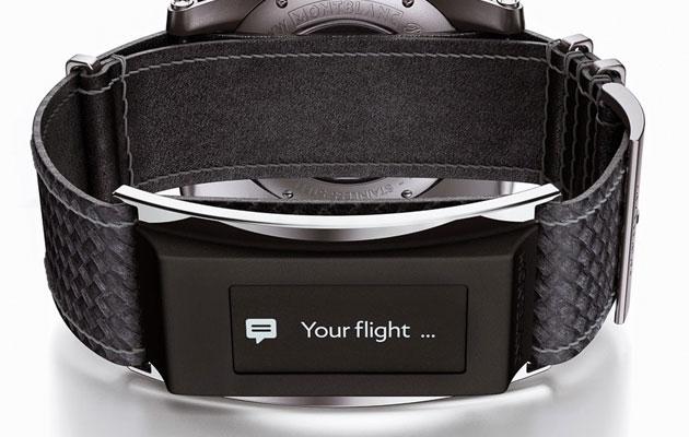 """Montblanc ha """"una e Cinghia"""" per rendere i suoi orologi di lusso più astuti"""