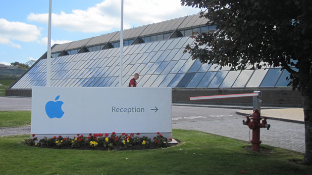 Apple's European headquarters in Cork, Ireland