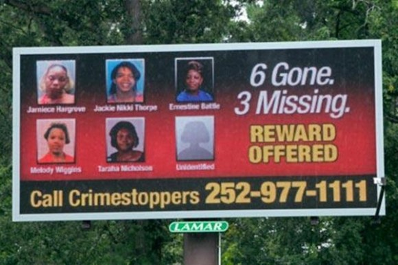 american serial killers that are still out there, serial killers at large, edgecombe county serial killer