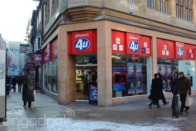 Il vecchio inventario di Phones4u sta vendendo allasta sulleconomico