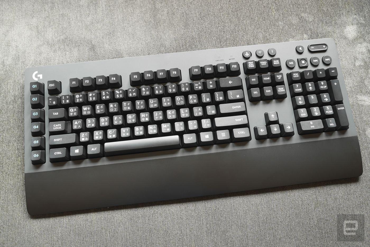 Logitech G603 無線滑鼠與 G613 無線機械鍵盤評測