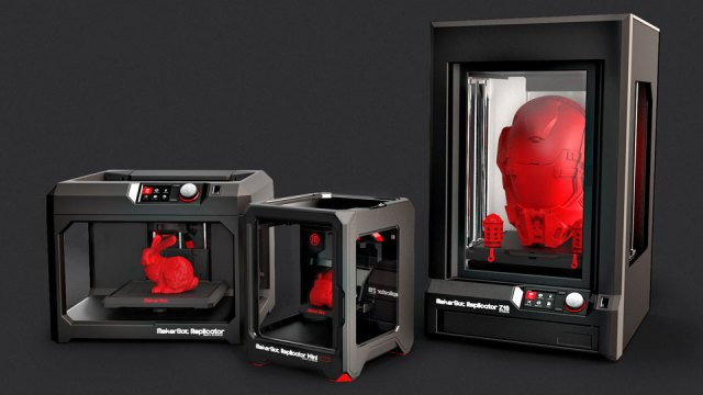 MakerBot's 5th-generation 3D printer line