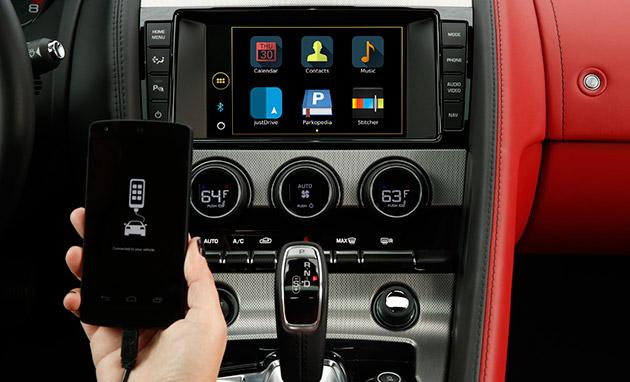 I nuovi guadagni di sistema del infotainment di Jaguar Land Rover esprimono il controllo