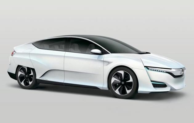 Lautomobile della pila a combustibile di Honda è in ritardo, in modo da sguardo a questa automobile di concetto invece