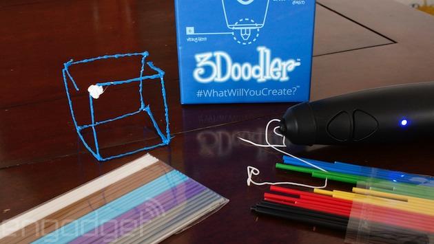 Un vistazo a la 3Doodler, el bolígrafo que imprime en 3D