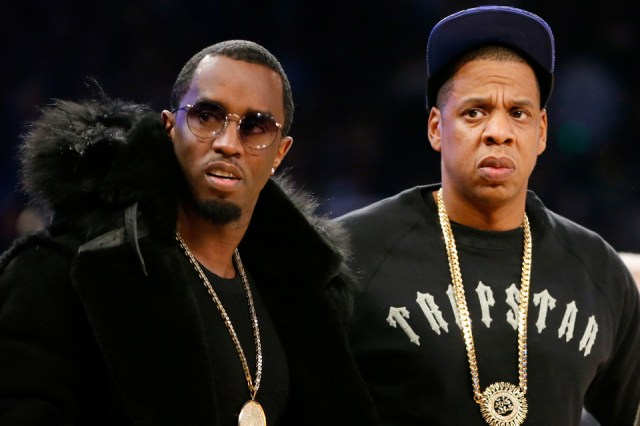 Puff Daddy and Jay-Z