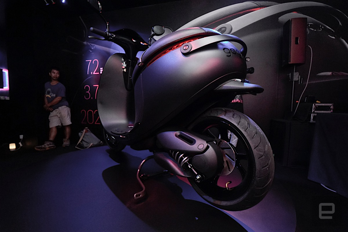 進化版的 Gogoro S 實車動眼看