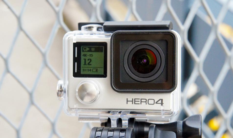 Il GoPro Hero4 si accinge a ottiene la nuova foto ed i video modi