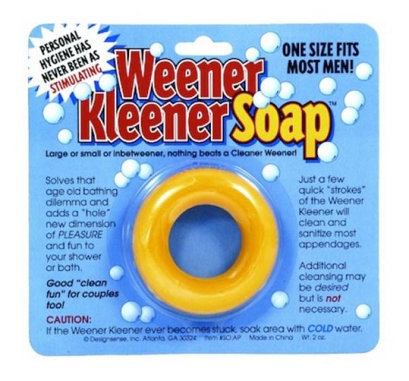 consumer products we're surprised aren't more popular, funny consumer products, awesome consumer products, weener kleener soap