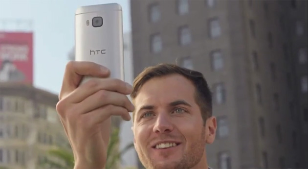 HTC One M9 promo video snippet