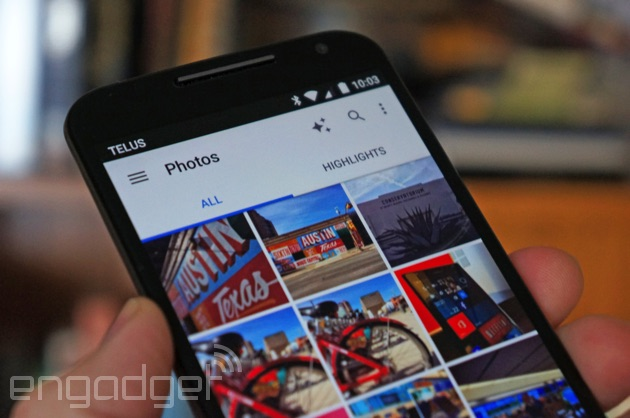 Google Photos on Android