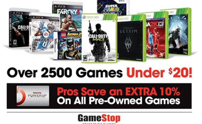 Gamestop Easter Weekend Sale Offers Buy 2 Get 1 Free On