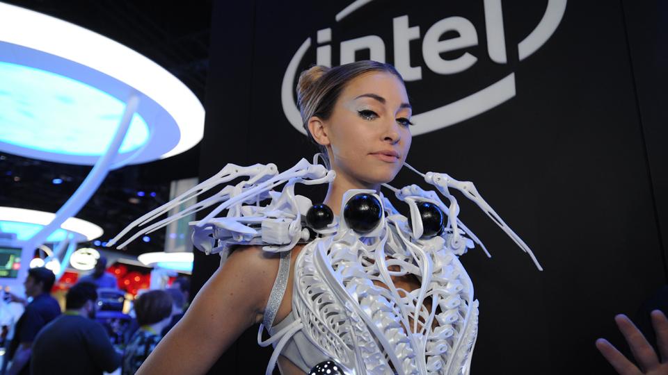 Dentro di Intel la cabina futuristica del CES insano