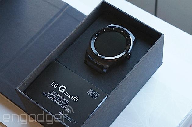 Lorologio circolare R del £225 G del LG va sulla vendita nel Regno Unito