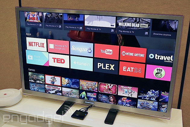 Google sta fendendosi giù sui cattivi apps di androide TV