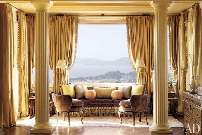 Suzanne Tucker of Tucker & Marks refurbished a formal living room.