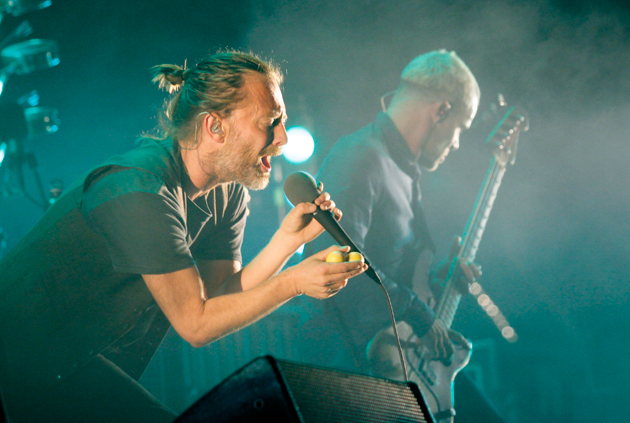 Thom Yorke playing with Atoms for Peace