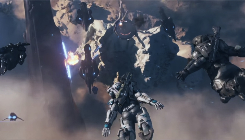 Halo 5 sigue calentando motores con un espectacular vídeo de cinemáticas