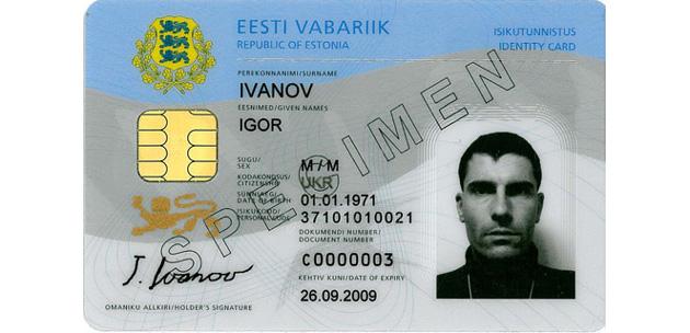 Estonia's digital ID card