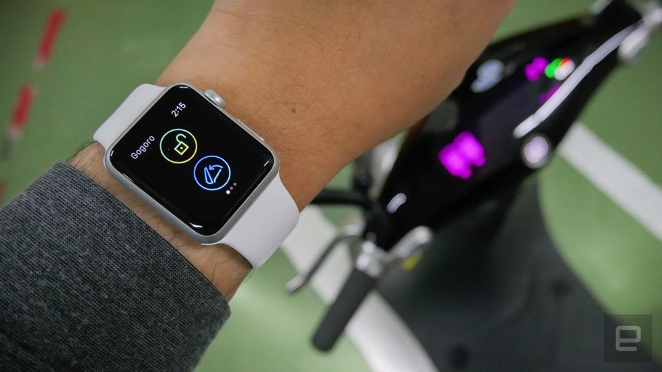 炫耀模式啟動!Gogoro 手機 / 手表「智能解鎖功能」搶先體驗