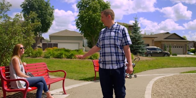 A screengrab of Andrew Scheer in a new ad from the Conservative Party of Canada.