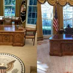 Oval Office Chair Wheel Price In Ksa See The Changes Donald Trump Made To Aol Lifestyle His Penthouse For Example Is Decked Out Gold And Louis Xiv Inspired Furniture As It Turns No Different