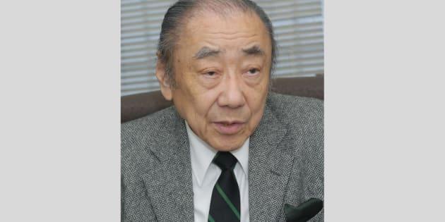 佐々淳行氏(2012年2月17日撮影)