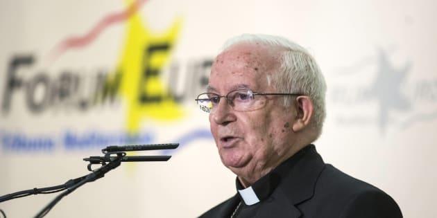 El cardenal Antonio Cañizares, en una imagen de archivo.