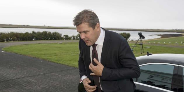 El primer ministro islandés, Bjarni Benediktsson.