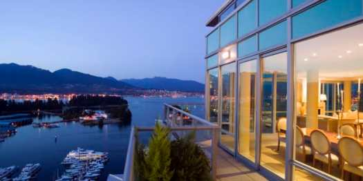 A luxury penthouse condo overlooking Coal Harbour in Vancouver. Condo prices in the city have soared nearly 20 per cent in the past year, despite the introduction of a 15-per-cent foreign buyer's tax.
