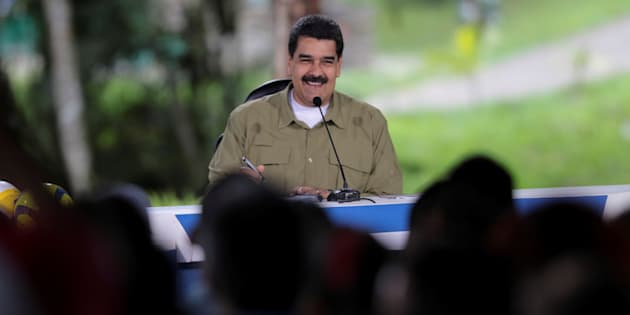 Nicolás Maduro, durante su intervención dominical.