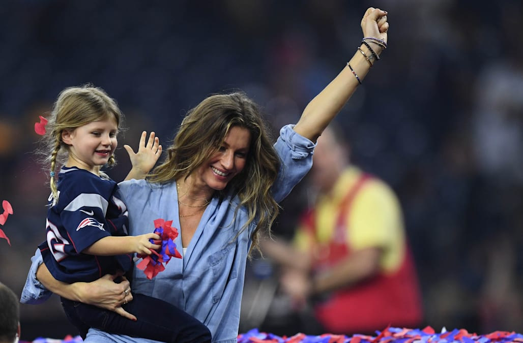 Gisele Bundchens Reaction To Husband Tom Bradys Super Bowl Win Is Hilarious Aol Entertainme