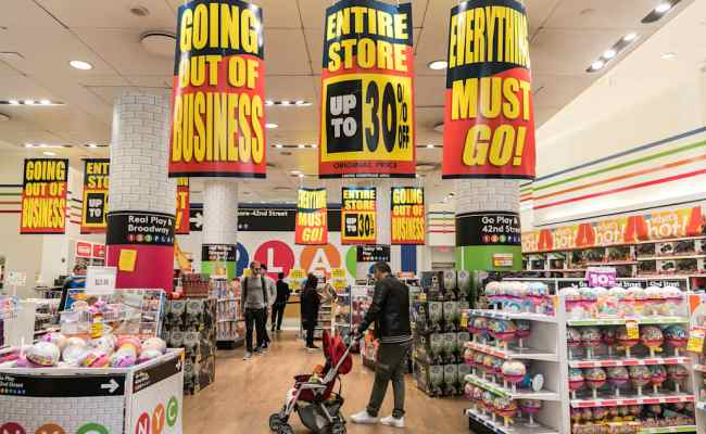 Toys R Us Might Be Coming Back After The Auction For Its