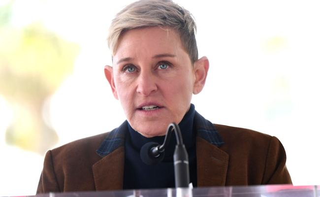 Ellen Degeneres Emotionally Recalls Being Sexually