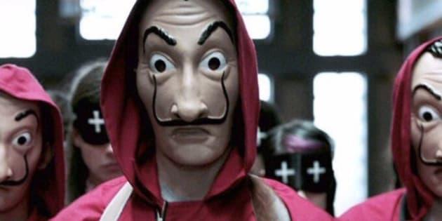 'La Casa de Papel' estreou no Brasil em dezembro de 2017 e virou febre.