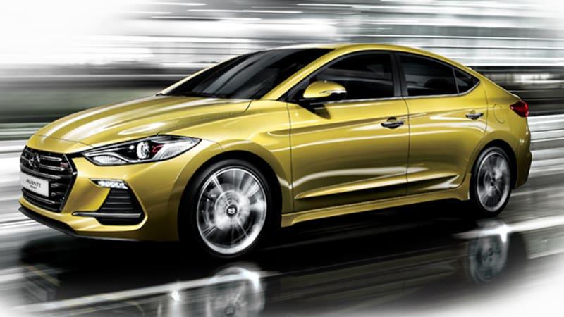 Hyundai Elantra Sport Likely To Get 201 Hp Optional